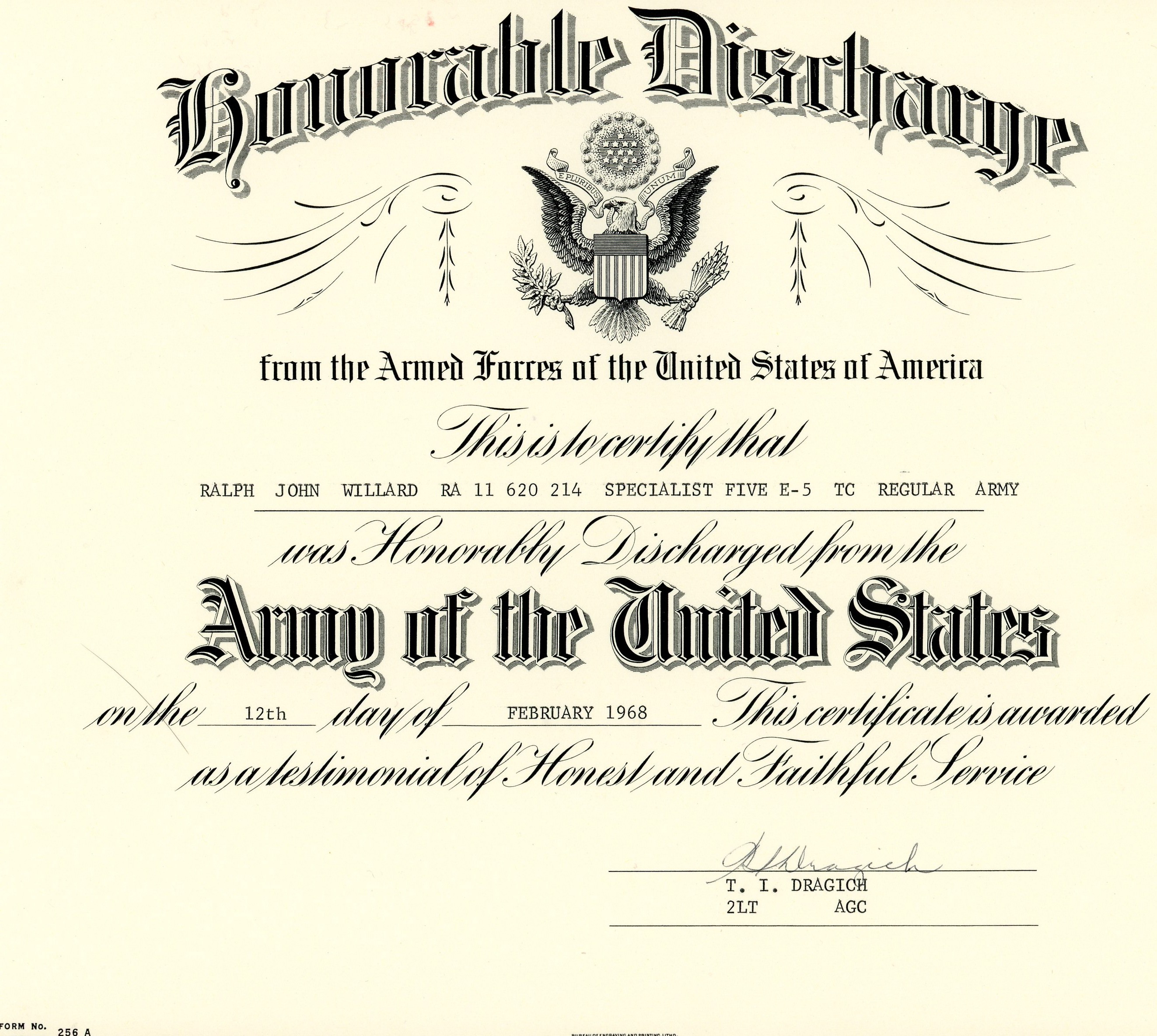 Ghostrideroneeight us army certificates xflitez Image collections